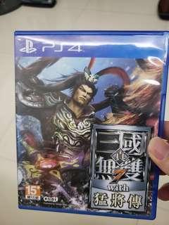 PS4 三國無雙7 猛將傳 中文版