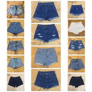 Highwaist Denim Shorts ‼️