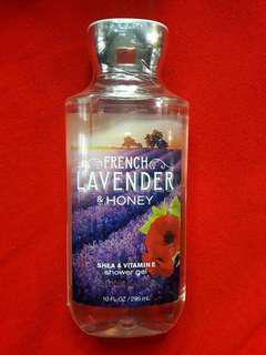 BN Auth BBW French Lavender & Honey Shower Gel