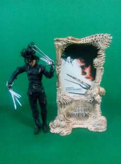 罕有 McFarlane Movie Maniacs Edward Scissorhands Johnny Deep 添布頓 幻海奇緣 剪刀手 愛德華 尊尼 特普