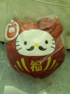 Hello Kitty 招福 達摩 公仔 LUCK IN THE NEW YEAR