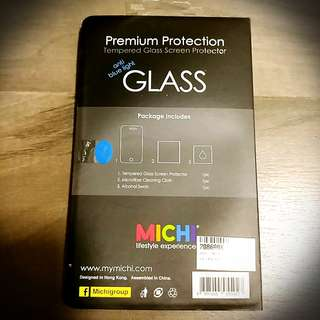 全新 Michi iPhone 8 隔藍光 高清 玻璃貼