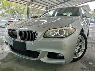 Unregistered. BMW 520i 2.0 (A) Twin Power Turbo. Year 2013. M-sport.