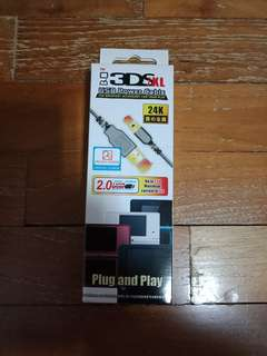 3ds USB 24k cable high grade for sale