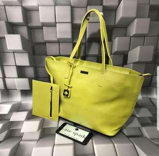 Brand New Kate Spade Green Bag