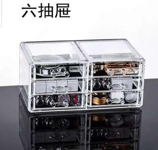 透明 首飾 收納盒