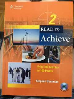 Read to Achieve 2