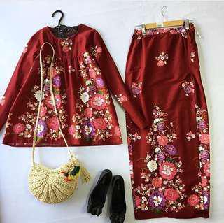 Barbiedoll Batik Kurung