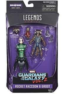 Marvel Legends - Rocket + Groot