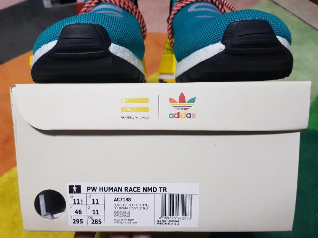 be71ce87a Adidas NMD Human Race Trail Sun Glow
