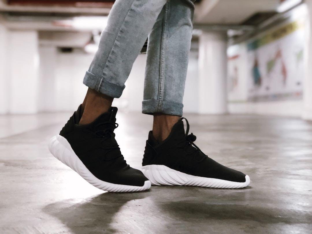 Adidas Originals Tubular Dawn in Black (US 7), Men's Fashion