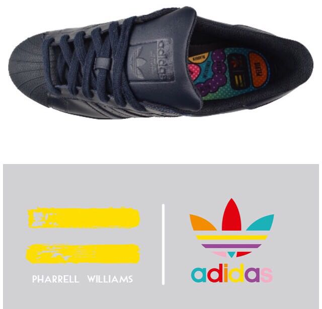 size 40 90c50 0412d ADIDAS x Pharrell Williams Superstar Supercolor Pack in Night Navy, Men s  Fashion, Men s Footwear on Carousell