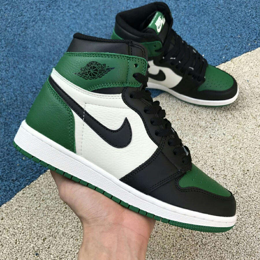 sale retailer 9f736 af63d Air Jordan 1 Pine Green