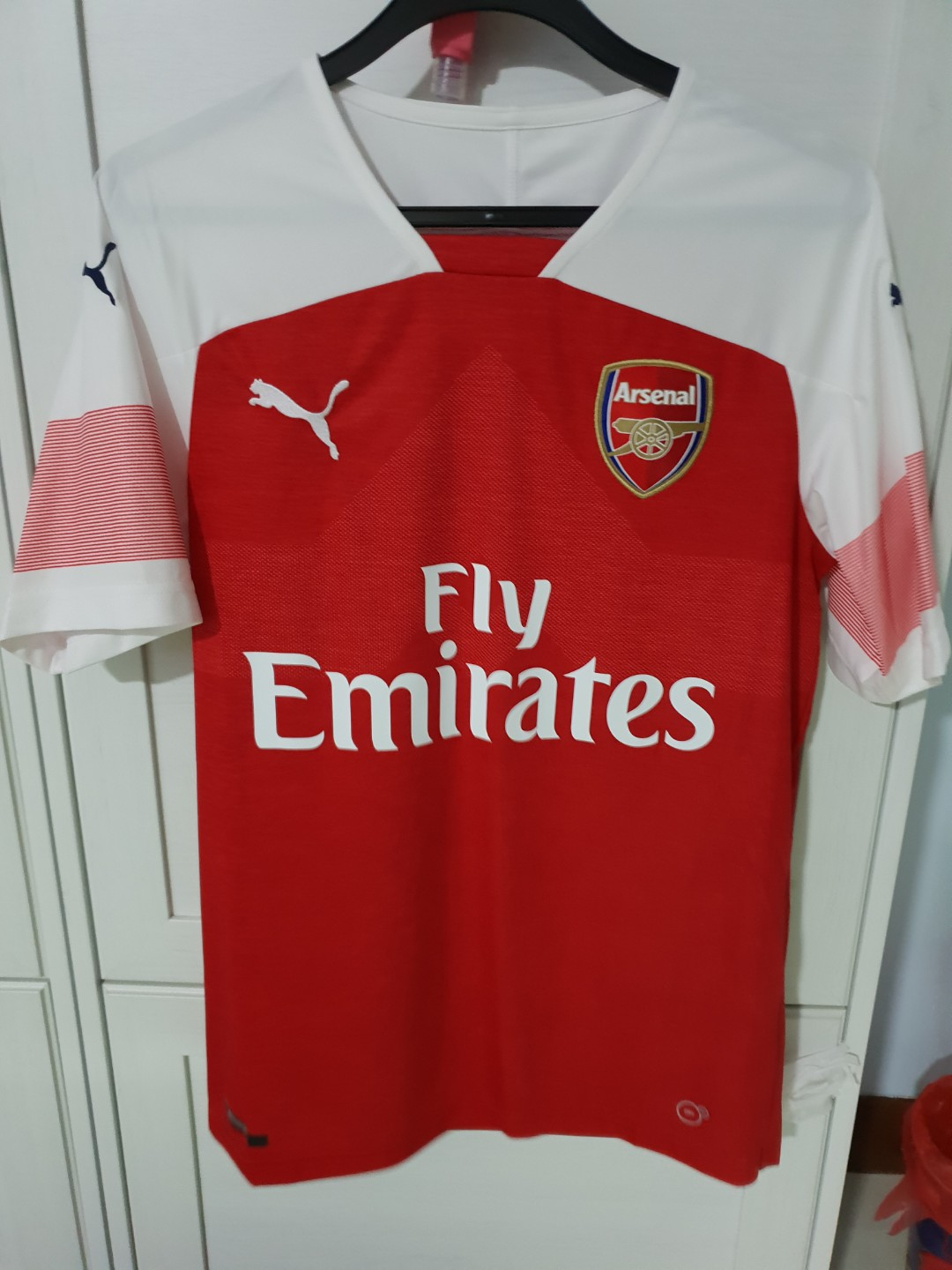 9ee092834c0 Authentic Arsenal 18 19 Home Jersey (Men)