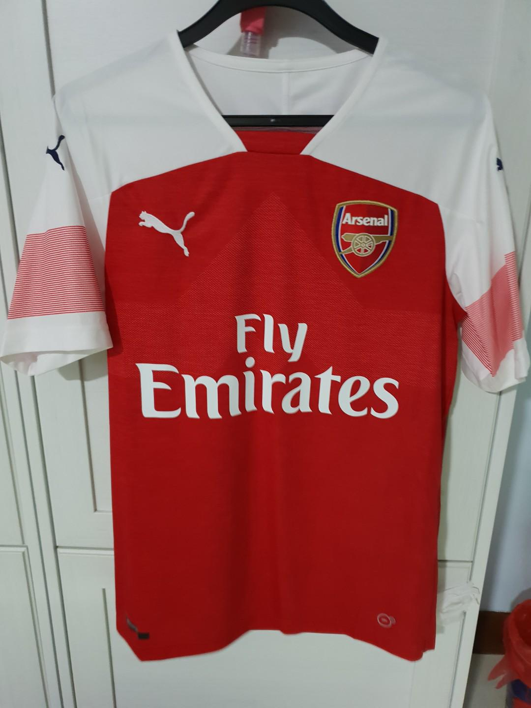 buy online 00535 3d4f3 Authentic Arsenal 18/19 Home Jersey (Men), Sports, Sports ...
