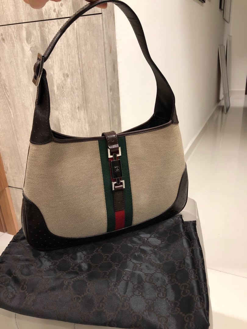 dad0638d6241 Authentic Gucci Jackie O hobo bag, Luxury, Bags & Wallets, Others on ...