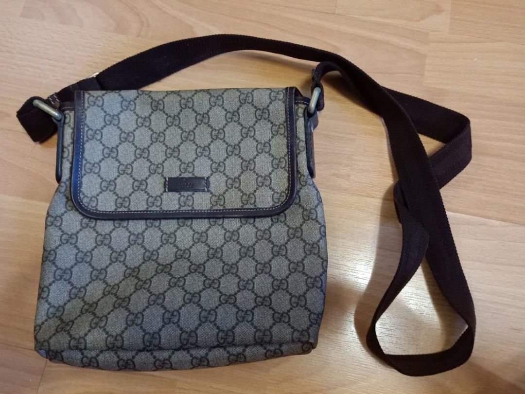 167b33cd816443 Authentic Gucci sling bag, Men's Fashion, Bags & Wallets, Sling Bags ...