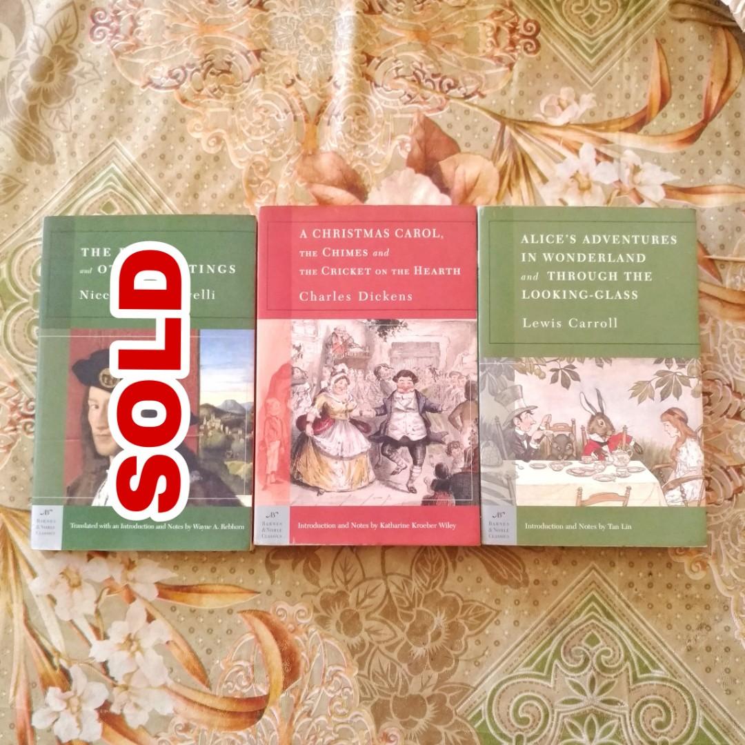 Barnes Noble Classics Books Books On Carousell