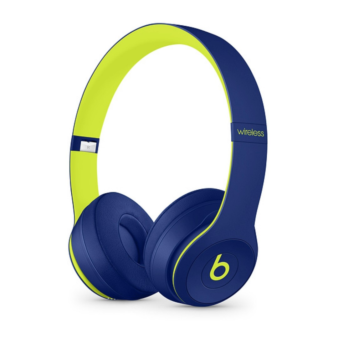 Beats Solo3 Wireless Headphones Bnib Pop Indigo Navy Lime Green