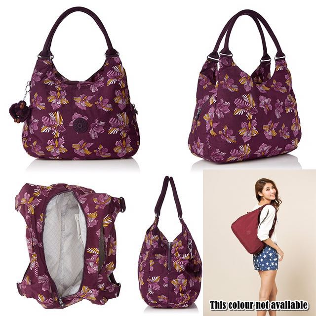 7329b2960 BNWT Authentic Kipling Bagsational Shoulder Bag, Women's Fashion, Bags &  Wallets on Carousell