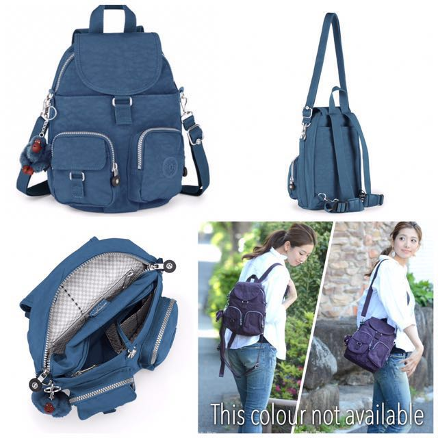 070948fbad BNWT Authentic Kipling Firefly N Medium Backpack Convertible ...