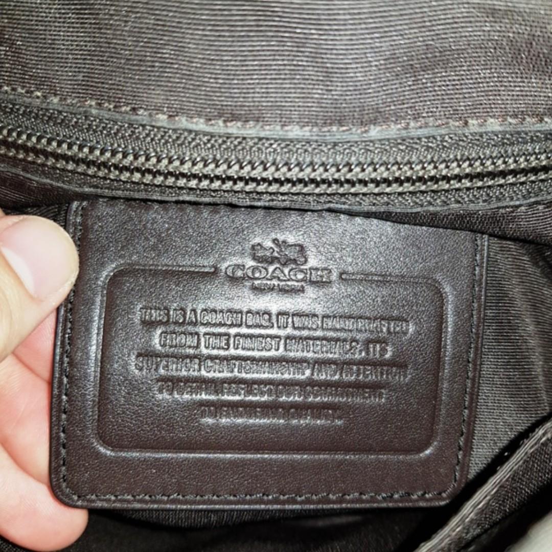 f251a6ff0e3 Coach heritage map messenger bag original not gucci LV hermes bally prada  bottega