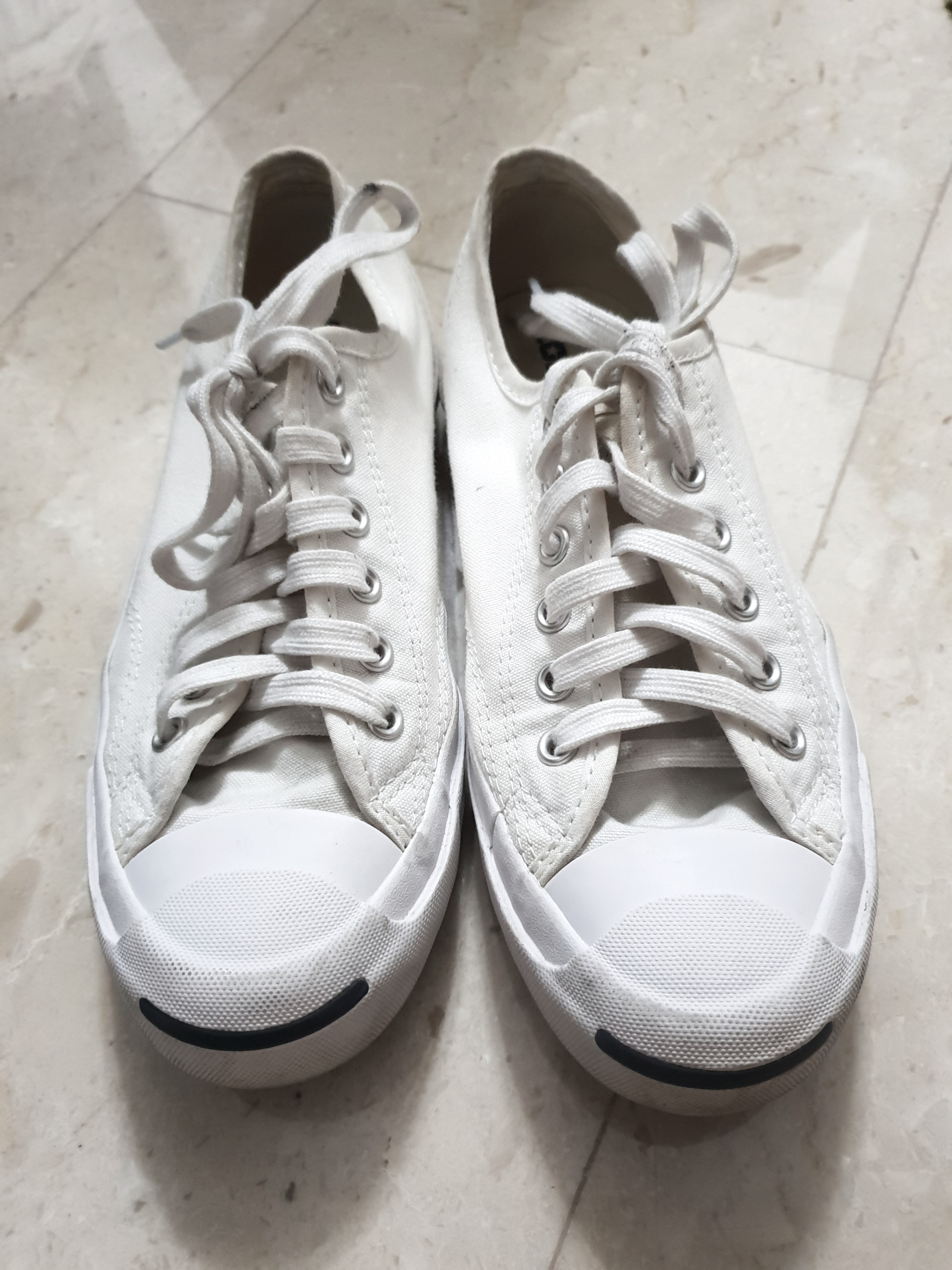 74a47f221f50 Converse Jack Purcell s in White Canvas