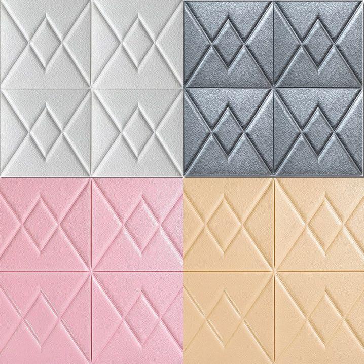 Extra Thick Quality 6d Foam Wallpaper Foam Wall Sticker
