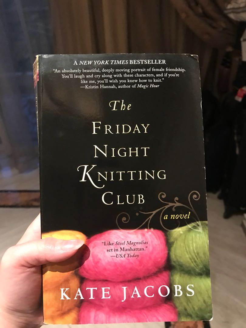 Friday Nigt Knitting Club Kate Jacobs Books Stationery Books