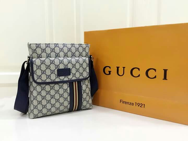0f154617cf7 Gucci Sling Bag Leather Type on Carousell