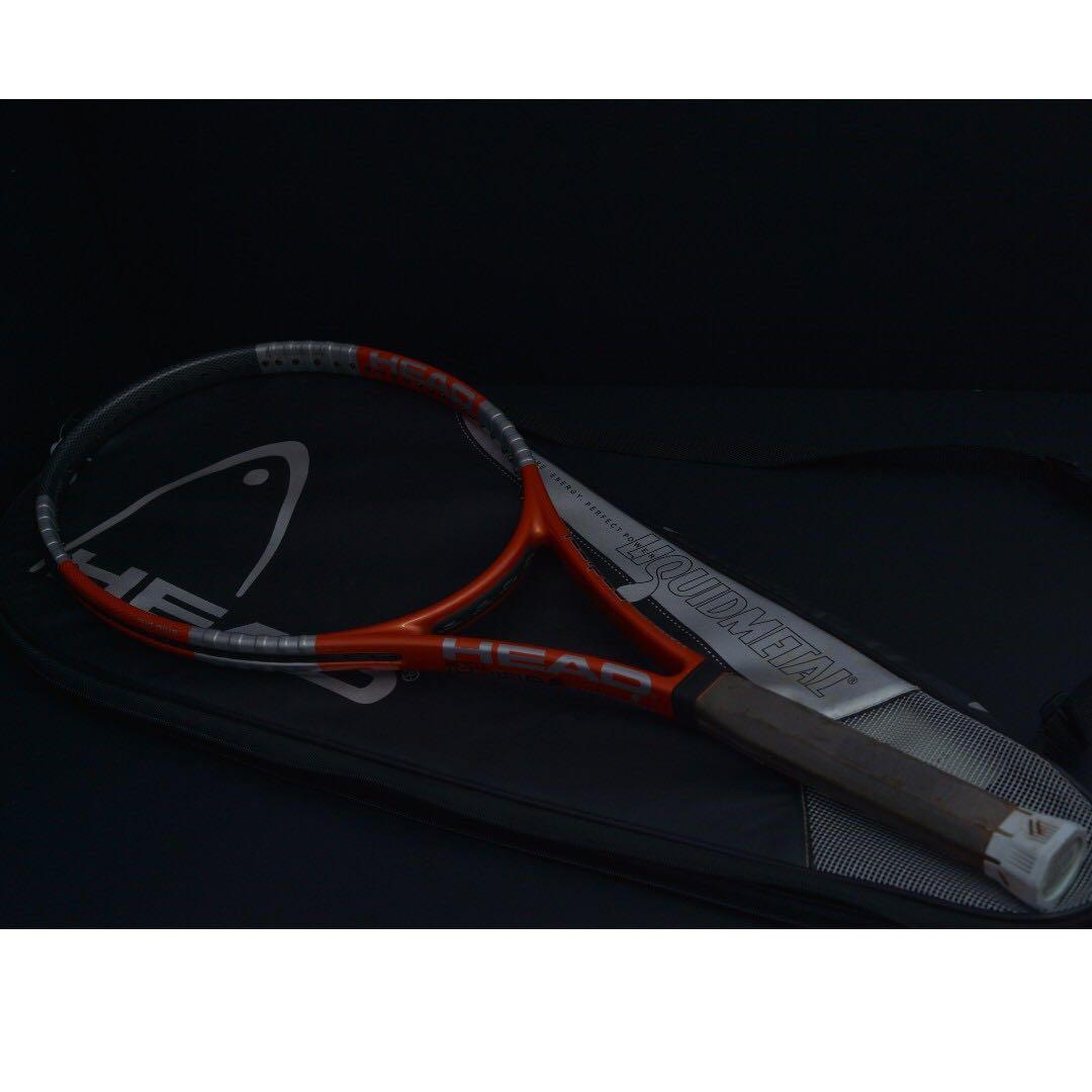 Head Liquid Metal Radical Tour 18x20 Tennis Tenis Racket Raket Racquet, Sports, Other on