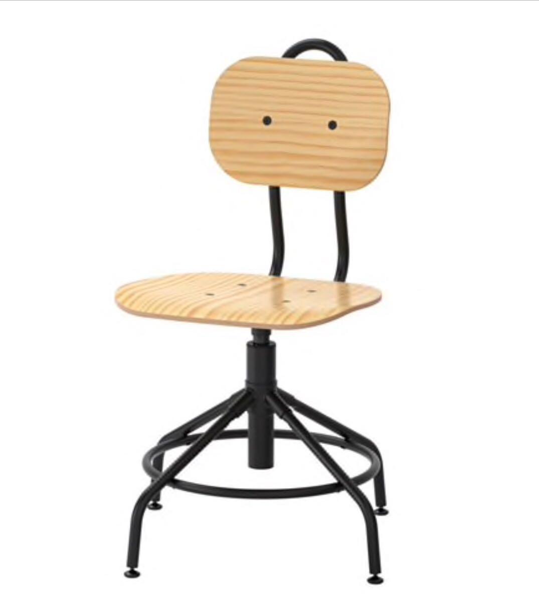 65582448ba Ikea Kullaberg Swivel Pine Chair   Perfect Condition