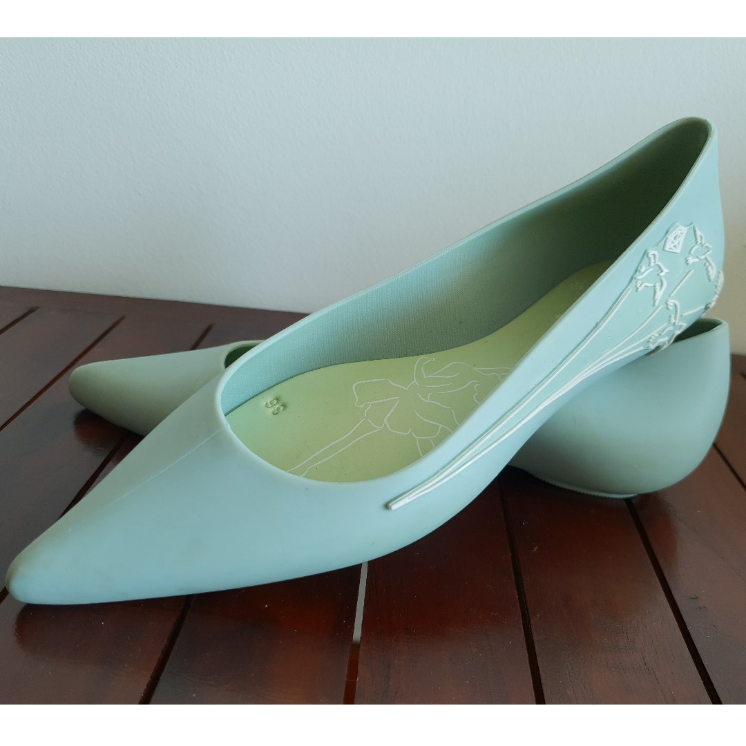 ee278b30e30 Inspired Melissa Glam - Flat Jelly Pointed Shoes (Size 36)