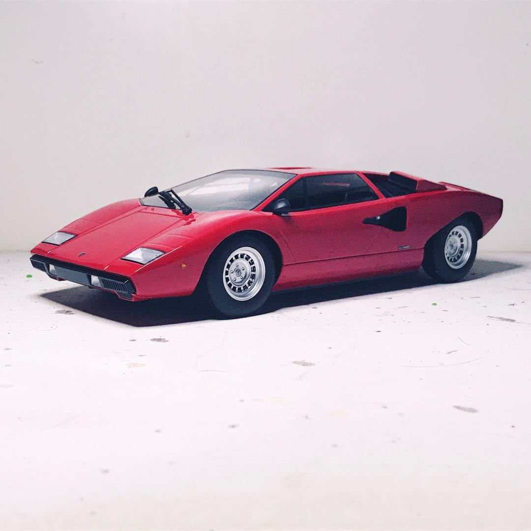 Lamborghini Countach Lp400 Kyosho Toys Games Others On Carousell