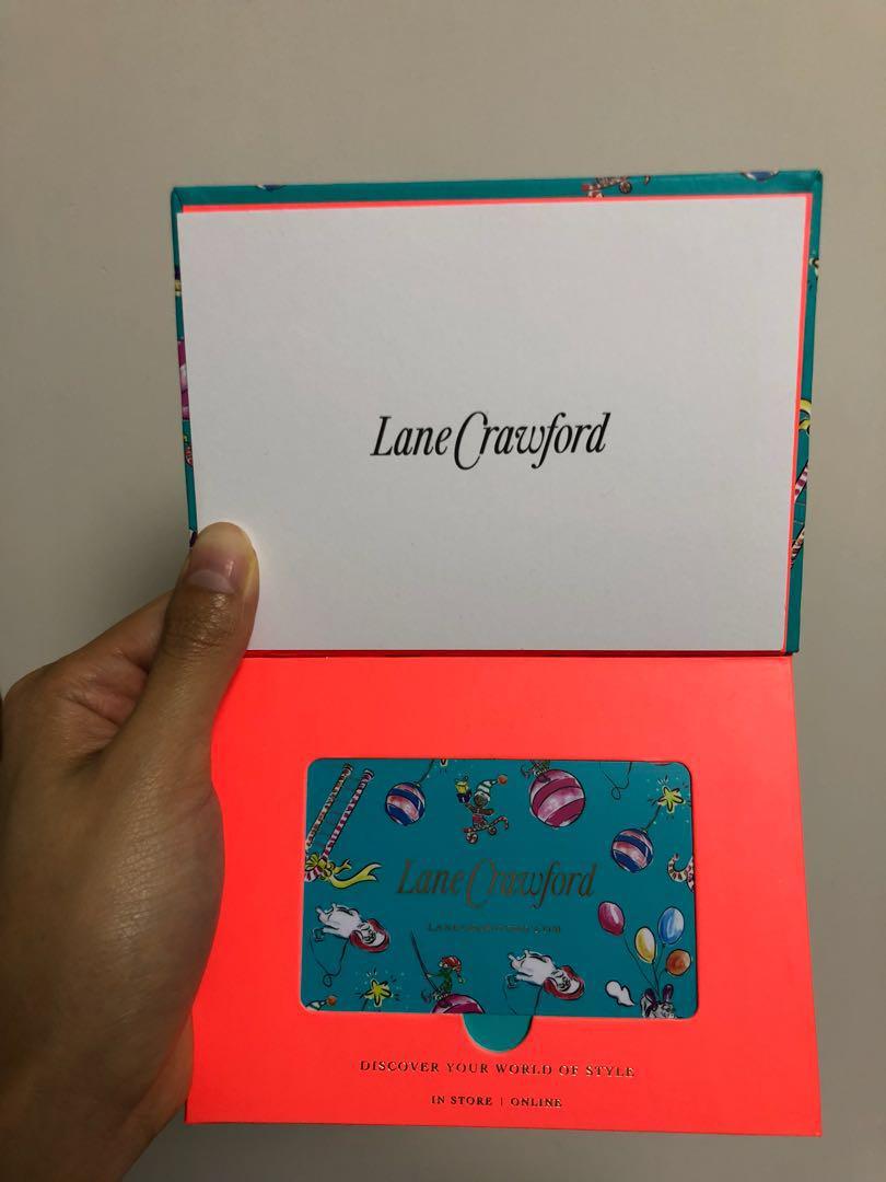 Land Crawford 連卡佛 gift card coupon voucher 現金券 禮券 禮物卡 sogo city'super faceless