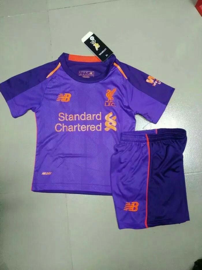 3f061baac55 Liverpool away kids jersey 18 19 (Original Grade) Instock