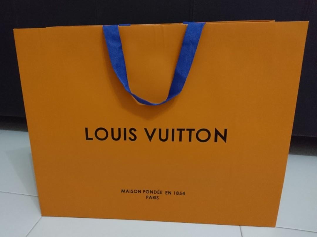 012f11a76f08 Louis Vuitton Paper Bag -ALL