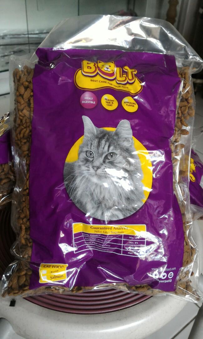 Makanan Kucing Bolt Pet Supplies Food On Carousell