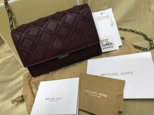 fea34cbe0842 ... wholesale authentic michael kors mini clutch bag preloved womens  fashion bags wallets on carousell aff57 dc646