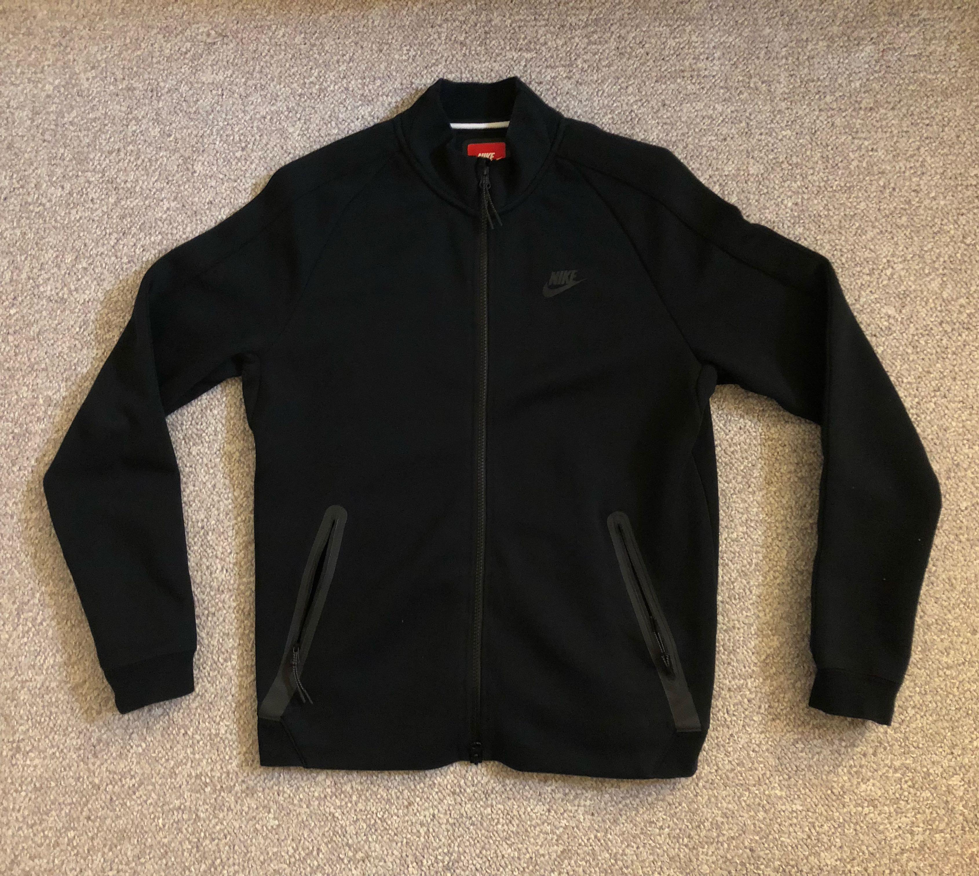 Nike Tech Fleece N98 Black Jacket