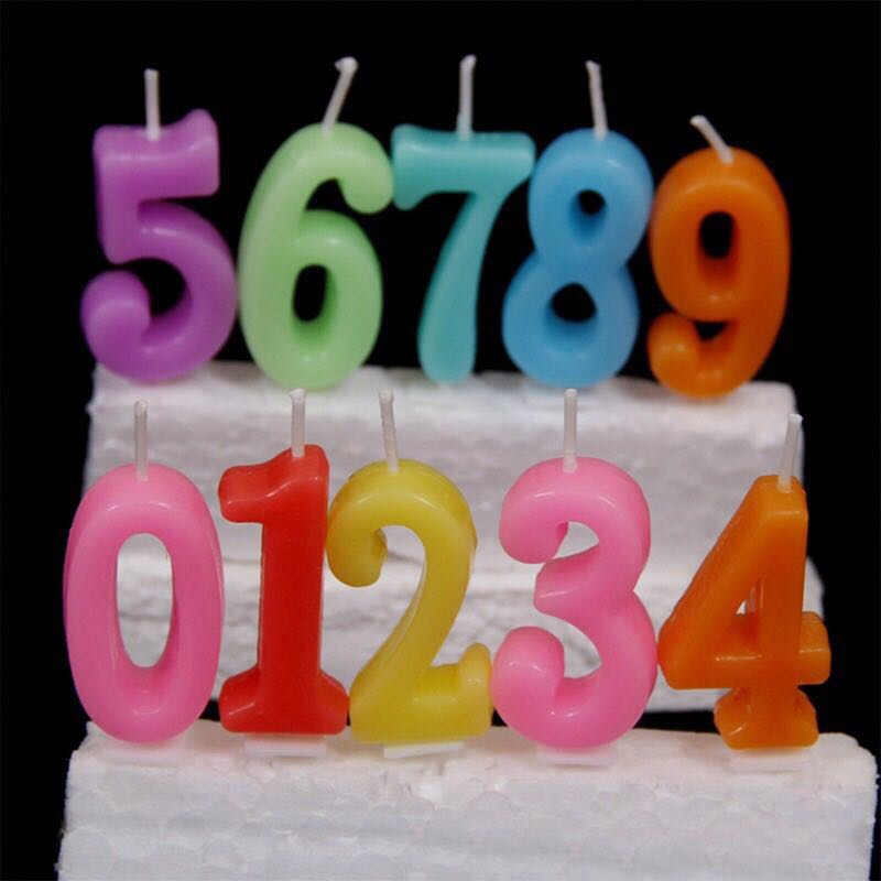 Number Candles Design Craft Supplies Tools On Carousell