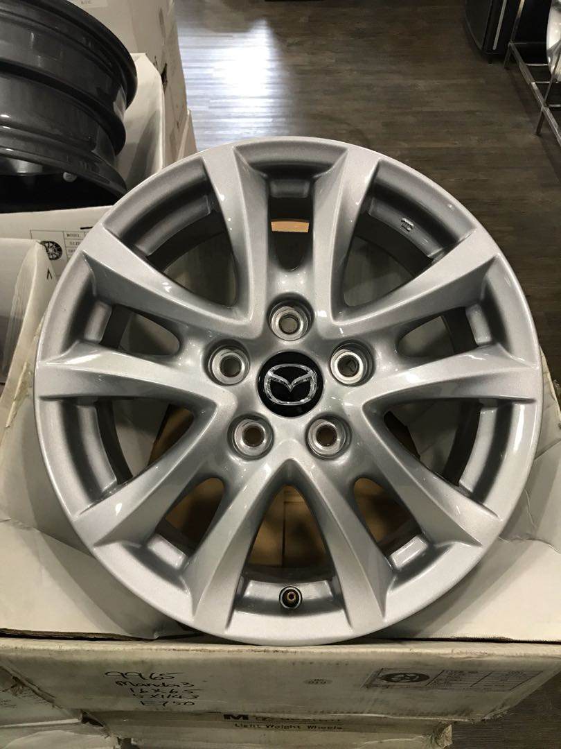 Mazda 3 Rims >> Original Mazda 3 16 Rims Car Accessories Tyres Rims On Carousell