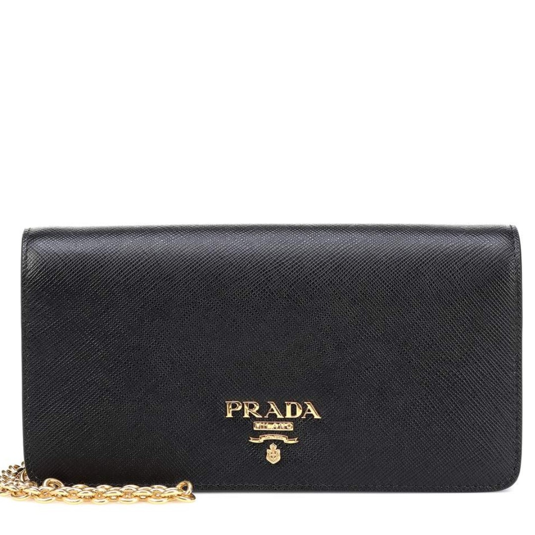 e64c65d4611a36 Prada Saffiano Leather Crossbody WOC, Luxury, Bags & Wallets, Sling Bags on  Carousell