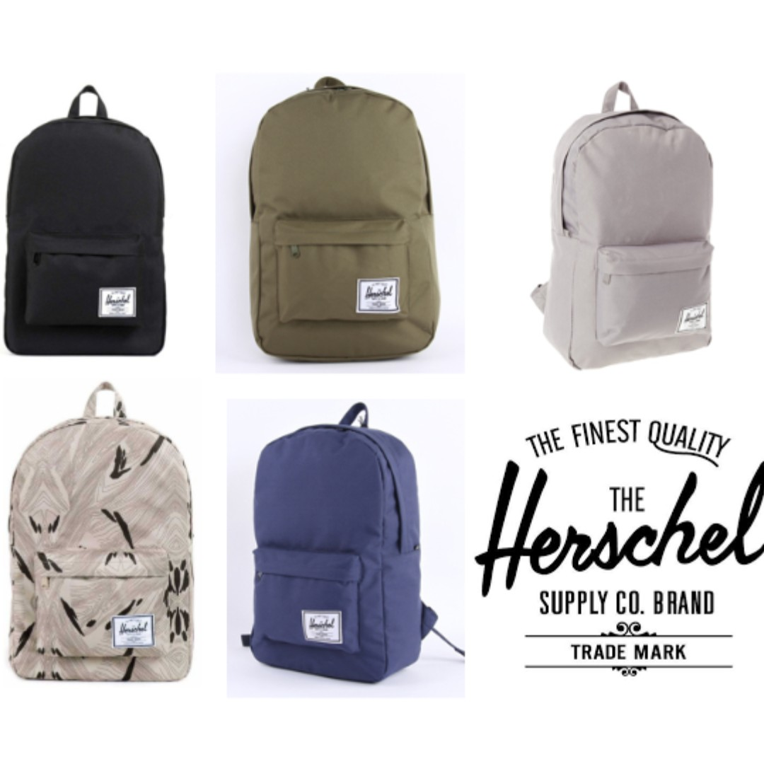 f8d6dc466 INSTOCK] PROMO: Authentic Herschel Classic 22L (BNIB), Men's Fashion ...