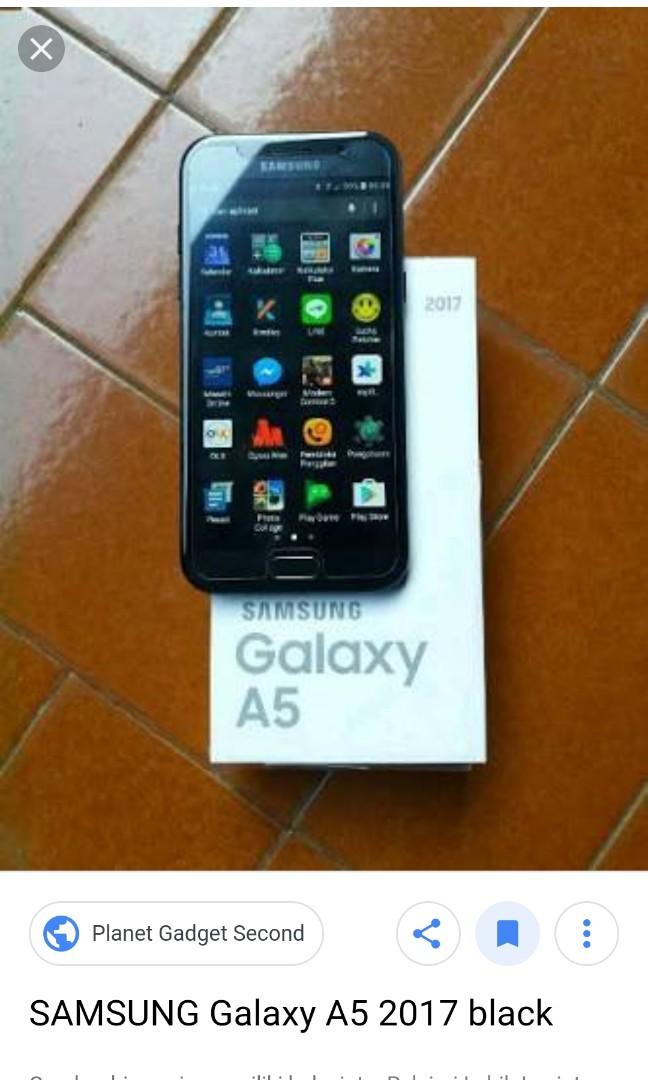 Samsung A5 2017 Elektronik Telepon Seluler Di Carousell