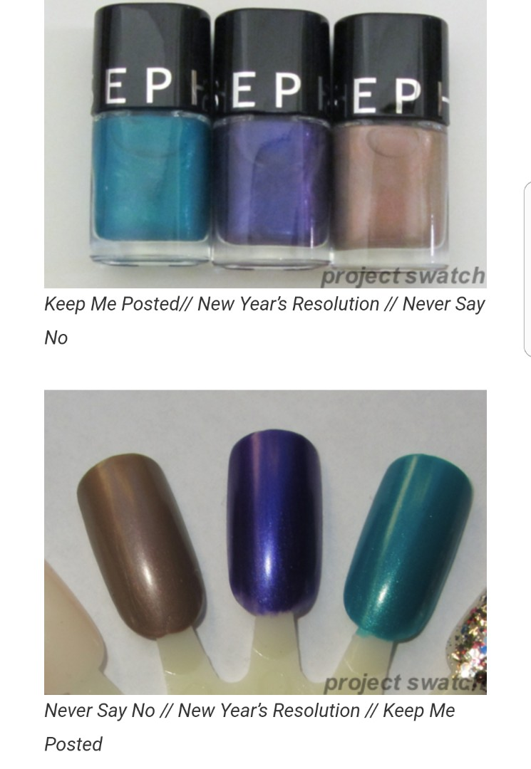 SEPHORA Collection Makeup Academy 12 Easy Nail Art Lessons, Health ...