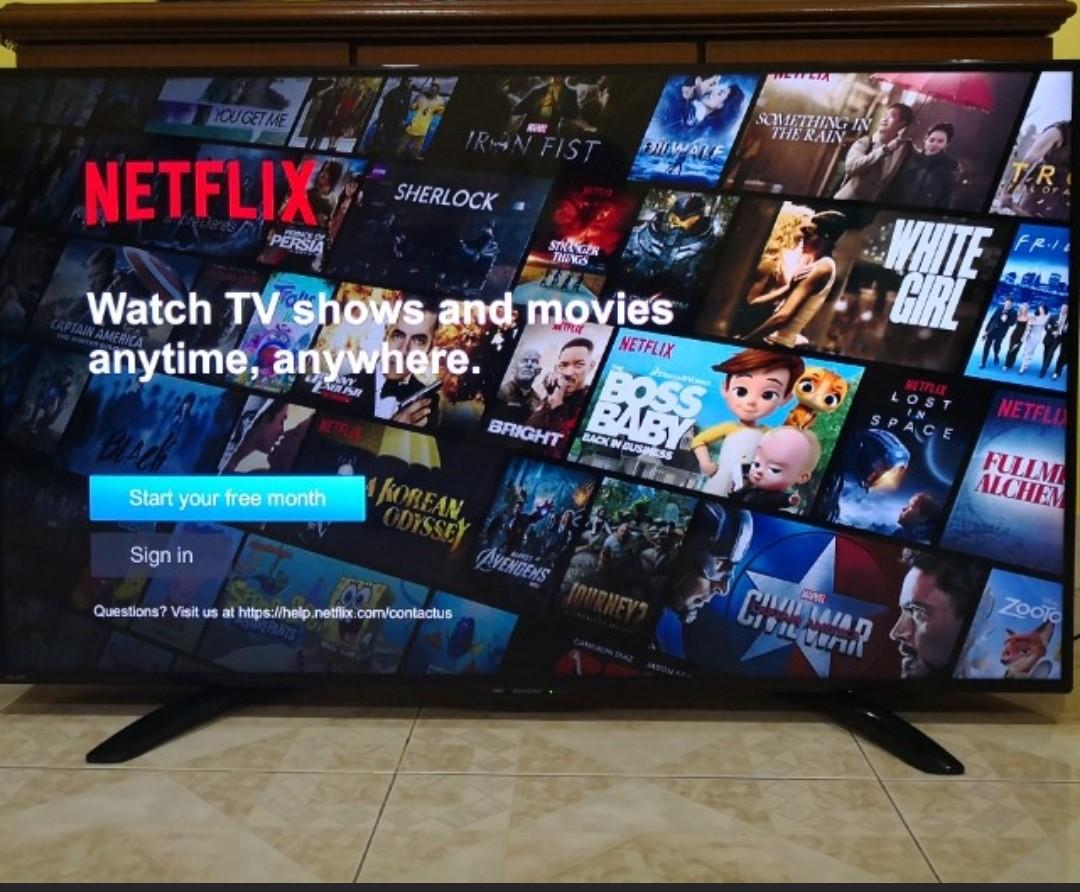 Sharp Aquos 50in Smart Tv Led Full Hd
