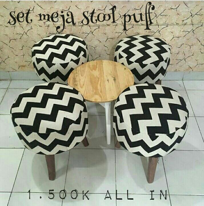 Sofa set stool puff