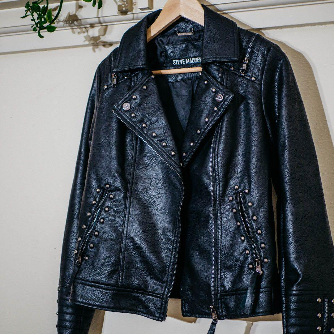 Steve Madden Leather Jacket