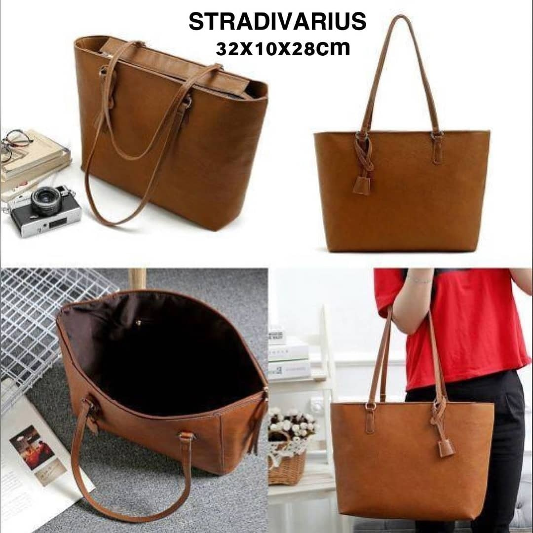 PROMO CUCI GUDANG!!! STRADIVARIUS TOTE BAG TAS IMPORT WANITA WITH PREMIUM  QUALITY GRAB IT FAST 3c14d182a6